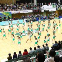 チアダンスアカデミーの練習風景