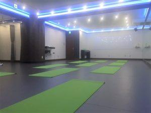 品川 レンタルスタジオのヨガマット