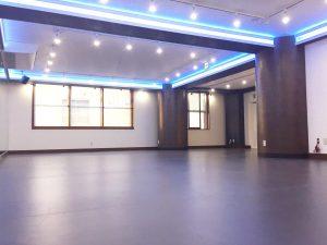 品川 レンタルスタジオの床